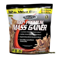 Гейнер 100% Premium Mass Gainer Muscle Tech 5,5 кг | Премиум Масс Гейнер Масл Тек