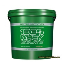 Scitec Nutrition 100% Whey Isolate 4,0 кг | Скайтек нутришн протеин вей изолят
