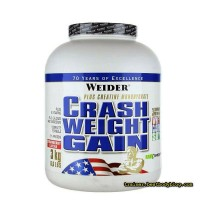 Гейнер Crash Weight Gain Weider Nutrition 3 кг | Краш Гейн Вейт Вейдер Нутришн