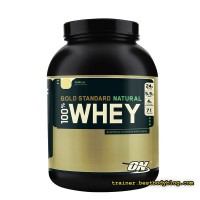 Optimum Nutrition 100% Whey Gold Standard Natural 2.27 кг  | Оптимум нутришн протеин Вей голд стандарт натурал