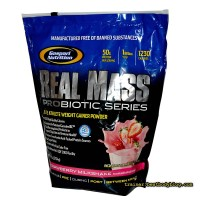 Гейнер Real Mass Probiotic Gaspari Nutrition 5.4 кг | Гейнер Риал Масс Пробиотик Гаспари Нутришн