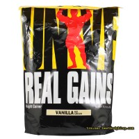 Гейнер Real Gains Universal Nutrition 4,8 кг | Гейнер Реал Гейн Юниверсал Нутришн