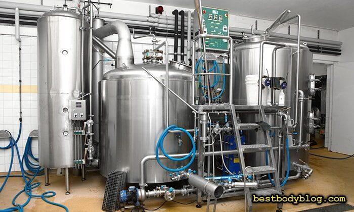 Линия фильтрации молока   Здесь производят сырье для протеинов