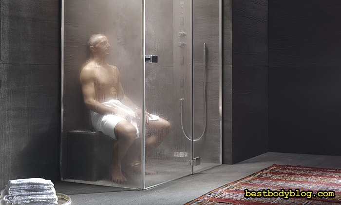 душ после тренировки