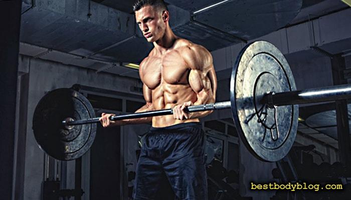 Подъем штанги на бицепс стоя - лучшее упражнение для роста мышечной массы бицепса