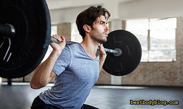 Приседания со штангой | Основное упражнение для набора мышечной массы и для похудения