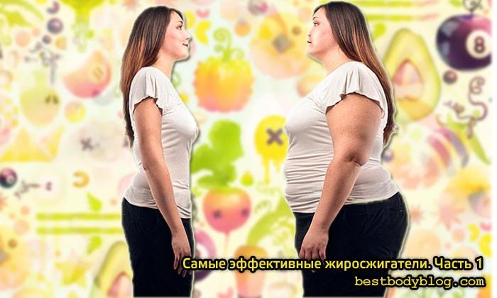 самые эффективные жиросжигатели