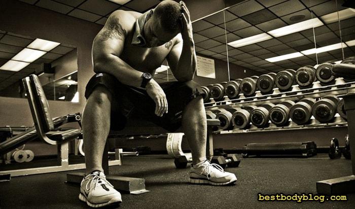 Ошибки в наборе мышечной массы | Перетренированность