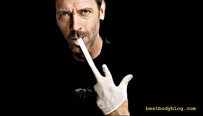 Доктор Хаус - большой любитель колоть стероиды направо и налево.