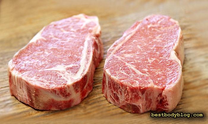 Натуральный говяжий стейк