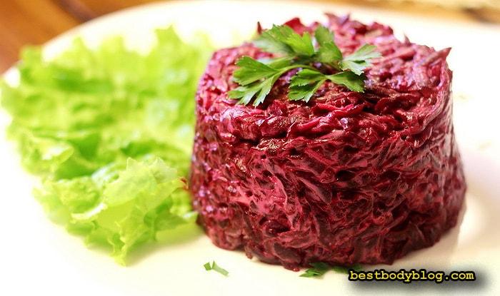 Салат из свеклы с чесноком | Простой, дешевый и эффективный источник природных витаминов
