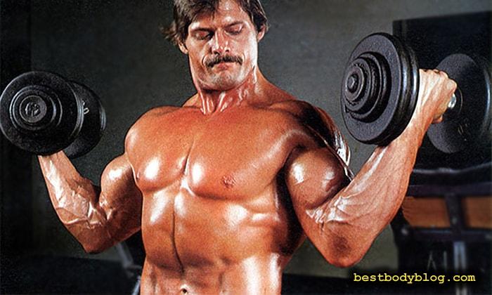 Упражнение для набора массы бицепса | Подъем гантелей на бицепс с супинацией