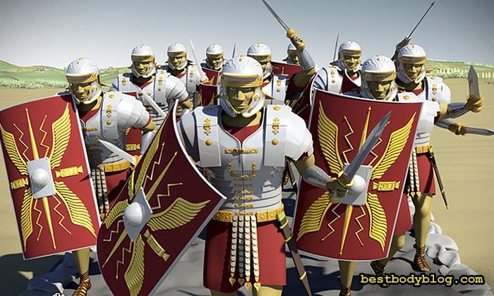 Римские легионеры ели творог