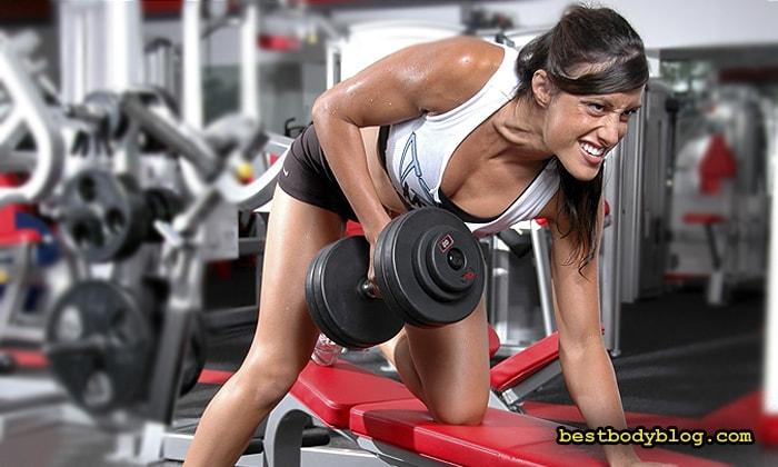 Тренировка суперсетами | Лучший способ девушке набрать мышечную массу
