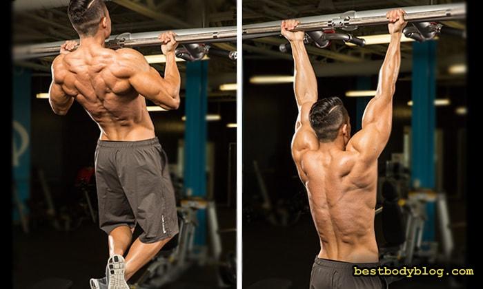 Лучшие упражнения на бицепс | Подтягивания обратным хватом