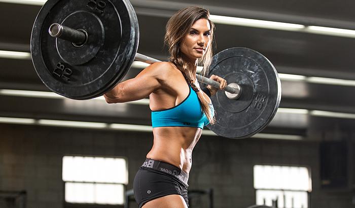 Высокообъемная тренировка для женщин