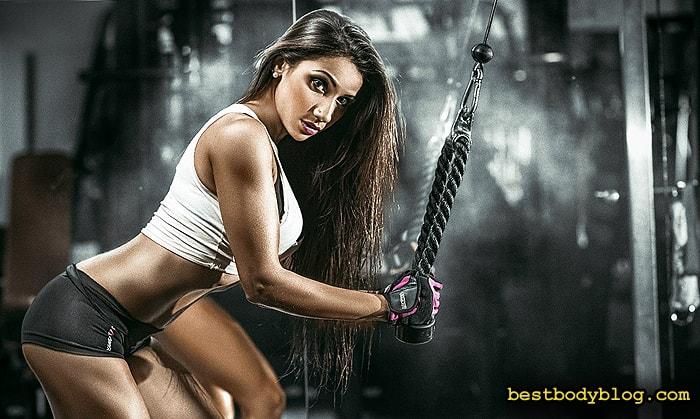 Программа набора мышечной массы 6-12-25 | Отличный способ тренировки рук для девушки