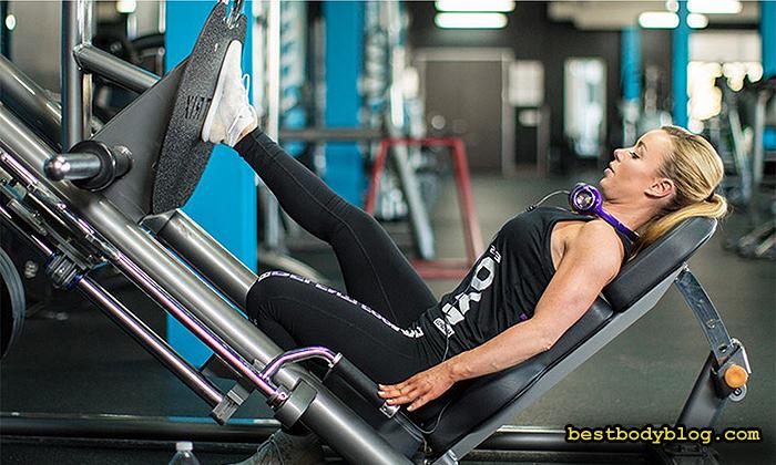 Выполнение упражнений одной ногой нагружает недоступные ранее участки мышц ног и ягодиц