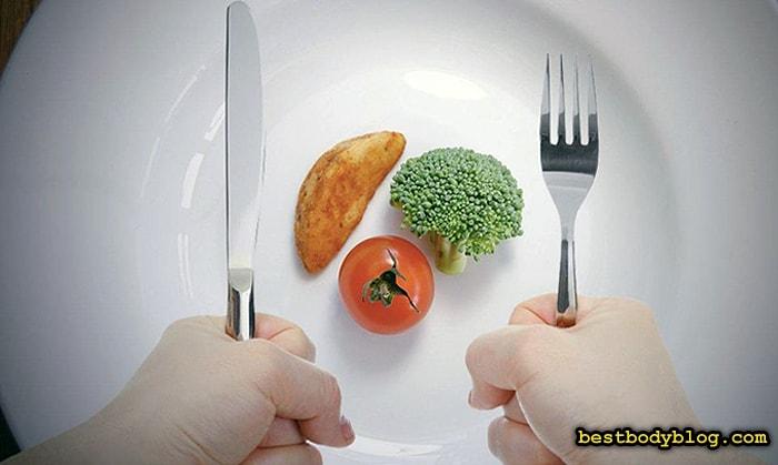 Небольшие порции пищи лучше усваиваются, не вызывая роста жировых отложений