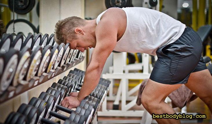 Результативность тренировки падает с каждым подходом