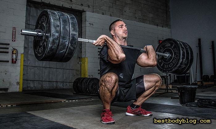 Частота тренировки каждой мышечной группы зависит от поставленной цели