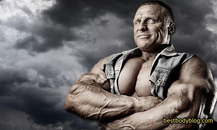 Олегас Журас. Литовский атлет, знаменитый своими великолепными руками