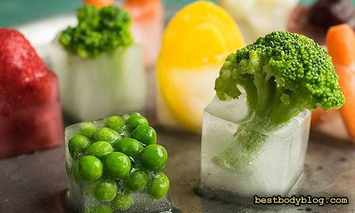 Замороженные овощи и фрукты - отличный источник витаминов и минералов по доступной цене