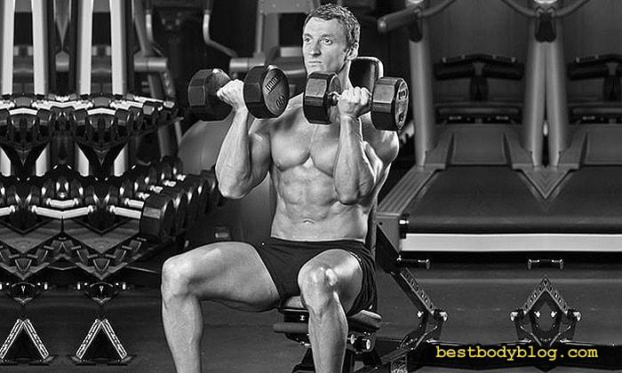 Забытые упражнения на массу | Жим Арнольда