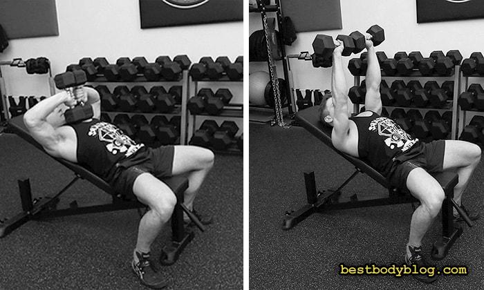 Забытые упражнения на массу | Жим Тейта