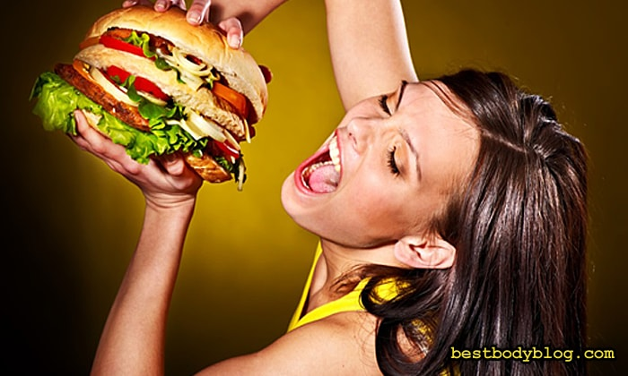 Набор массы для девушек   Рацион питания необходимо держать под строгим контролем