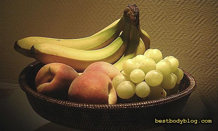 Набор массы для девушек   После тренировки нужно съесть сладких фруктов