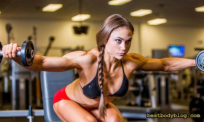 Набор массы для девушек | Тренировка низа тела должна чередоваться с тренировкой его верха