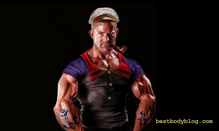 Моряк Папай   Герой американских комиксов, имевший огромные предплечья