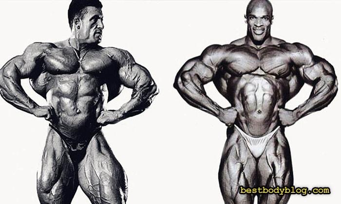 Дориан Ятс и Ронни Колеман | Монстры мышечной массы c невероятно широкой спиной
