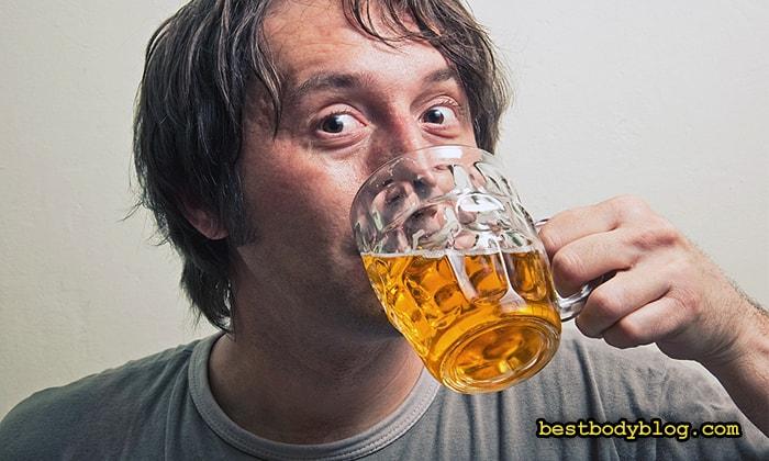 Пиво понижает выработку тестостерона
