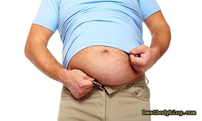 Чтобы убрать живот нужно уменьшить количество жира на всем теле