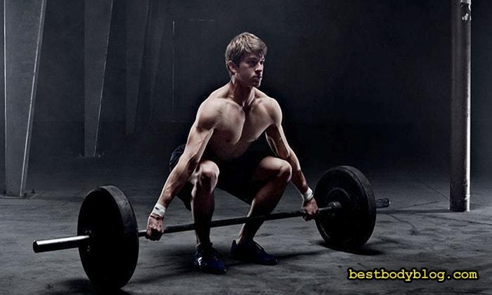 Базовые упражнения со штангой и гантелями | Основа круговой тренировки