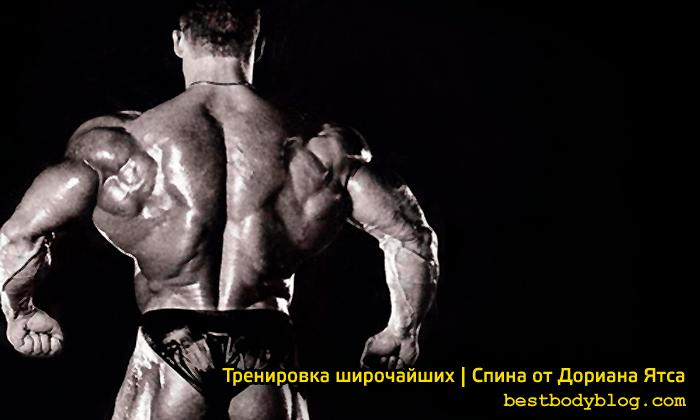 Тренировка широчайших | Спина от Дориана Ятса