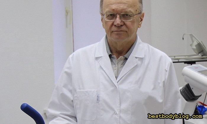 Профессор Селуянов. Кандидат биологических наук