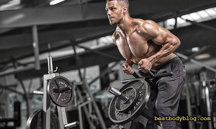 Тяга Т-штанги – лучшее упражнение на середину спины