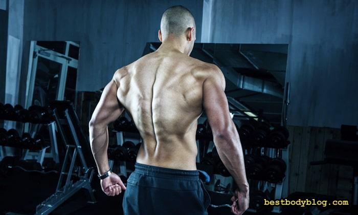 Чтобы накачать спину нужно много подтягиваться