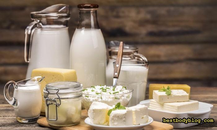 Больше всего галактозы содержится в молочных продуктах