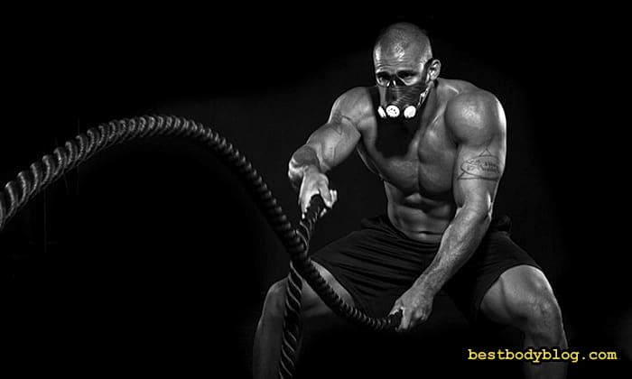 Спортивная маска для дыхания