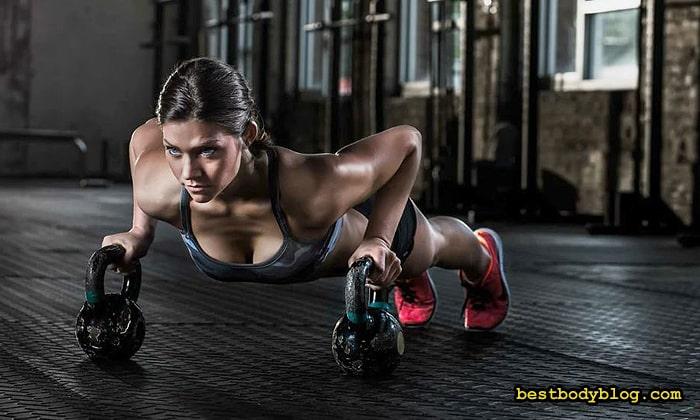 Расход калорий в кроссфите составляет до 700 за час