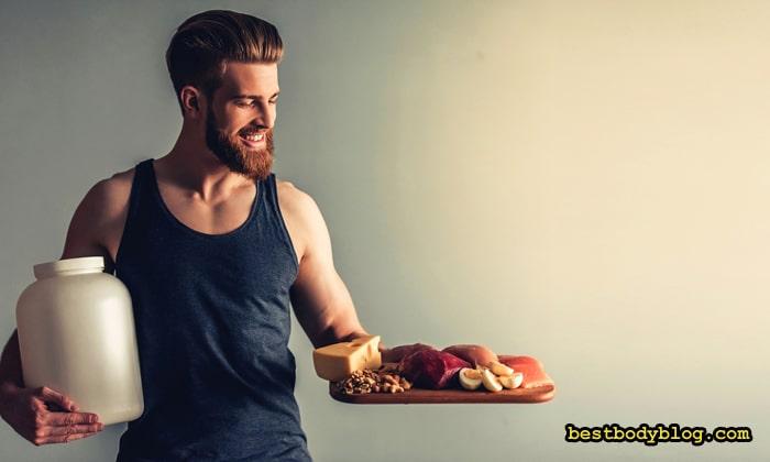 Белок - важнейший элемент рациона питания для роста мышц