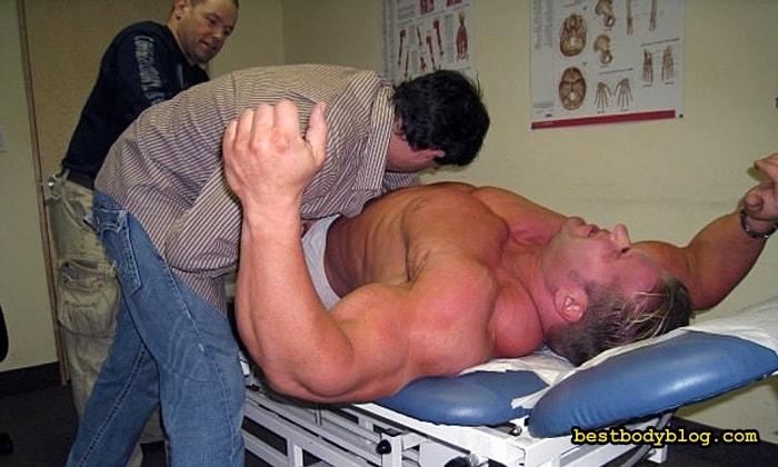 Польза массажа в спорте