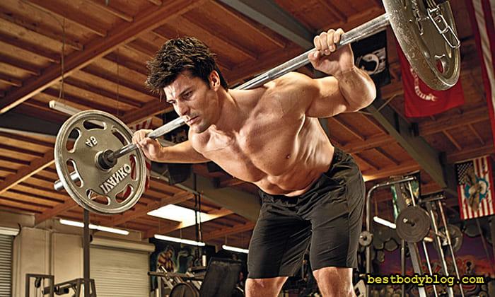 Тренировка спины на силу