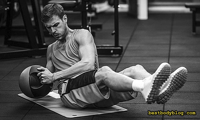 Упражнение для косых мышц
