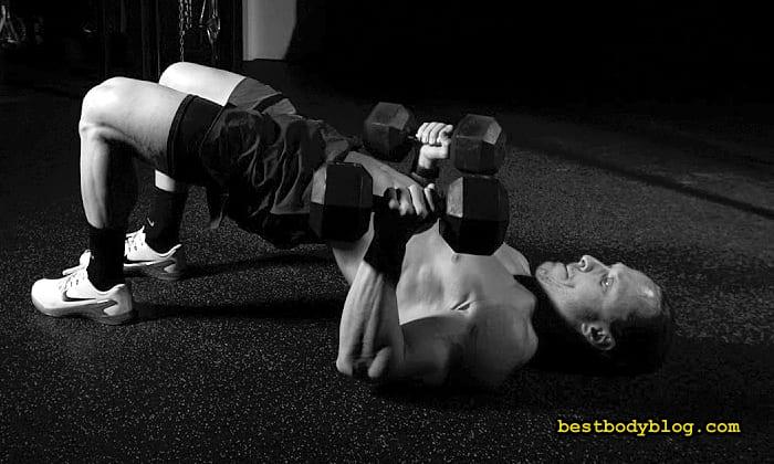 Программа тренировки груди