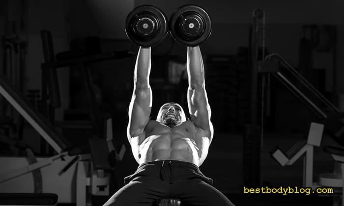Упражнение на верх груди
